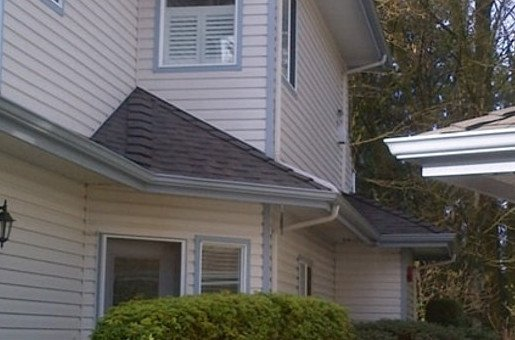 2 years after siding cleaning